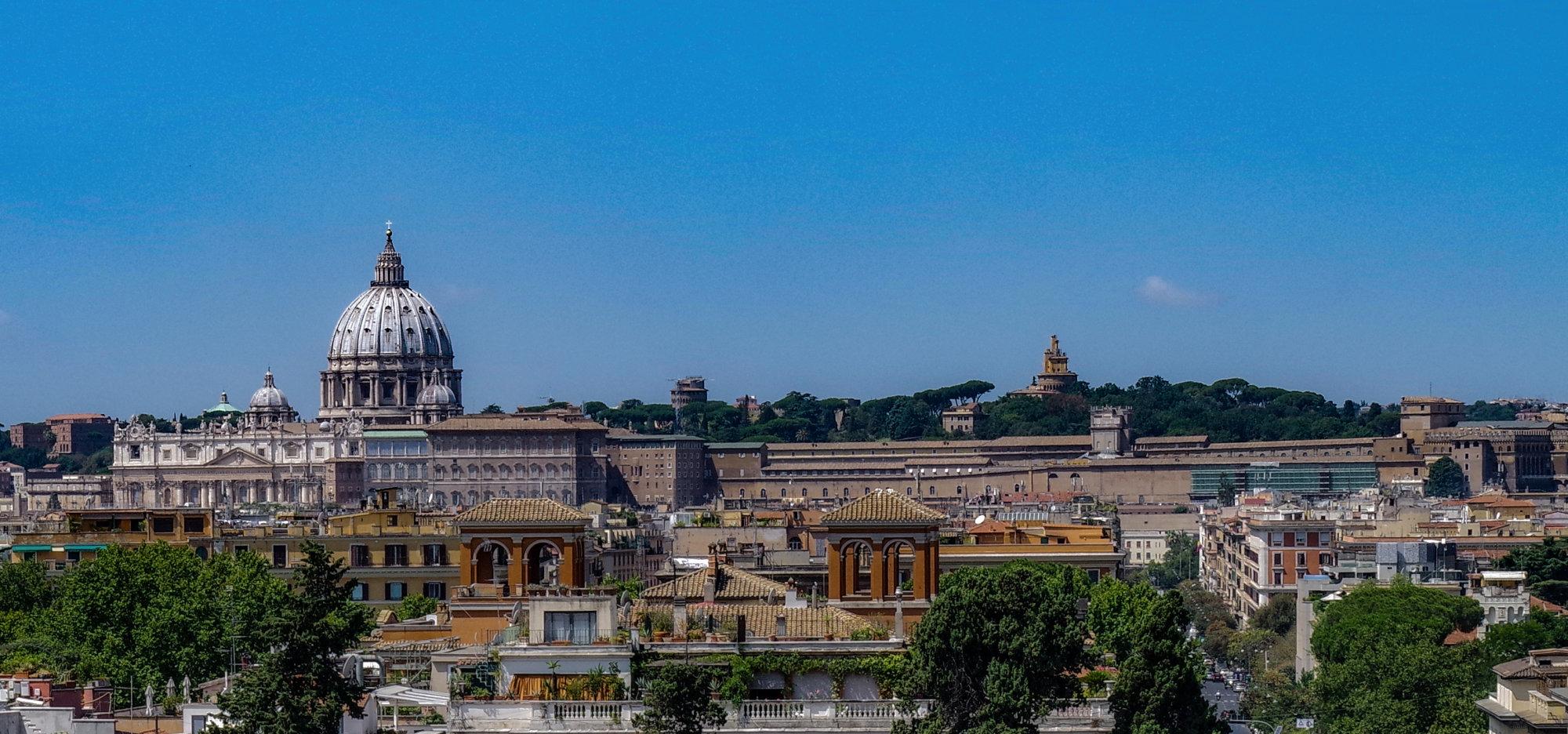 Rome Landscape (St Paul's and the Vatican)