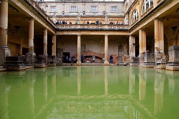 Roman baths. Bath Somerset by Adrian57