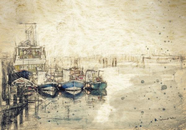Scarborough Harbour by jonirock