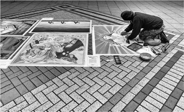 The artist. by franken