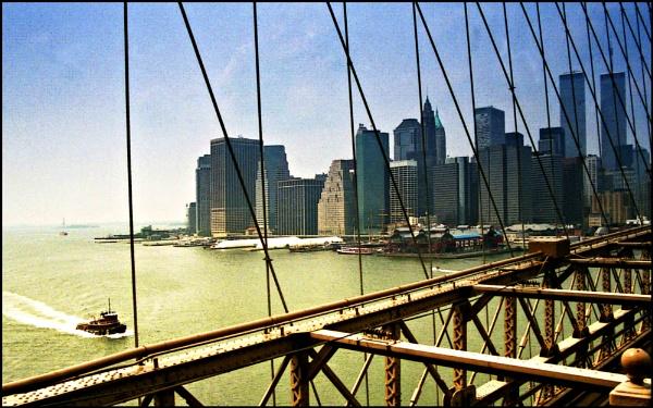 Brooklyn bridge 1989 #2 by Tramper