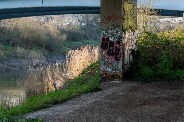 Under the bridge on the Avon by Johnpics