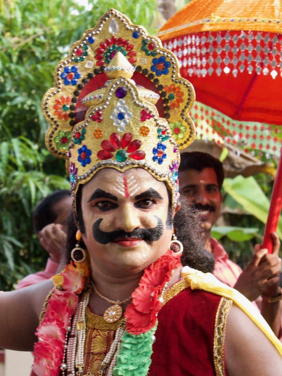 Crazy Kathakali .. Tamil Nadu, India