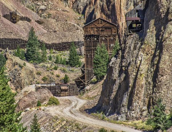 Colorado silver mine by jbsaladino