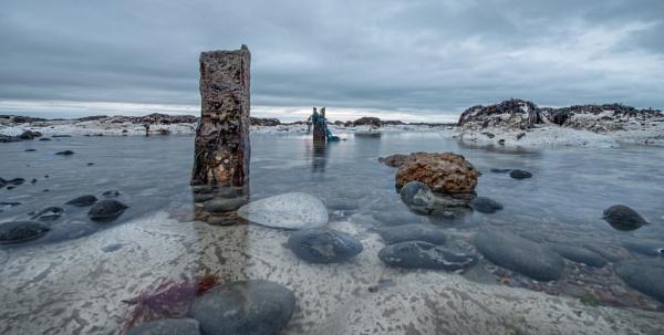 Chalk Rock Pool by carper123