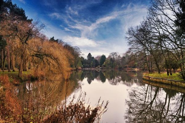 University Nottingham Golden Hour by marcsneddon