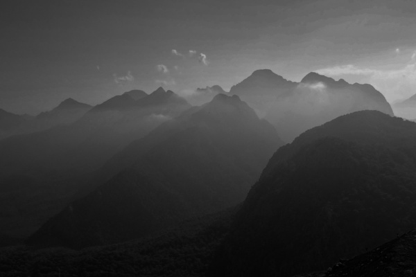 Behind the mountains by BelloBaer