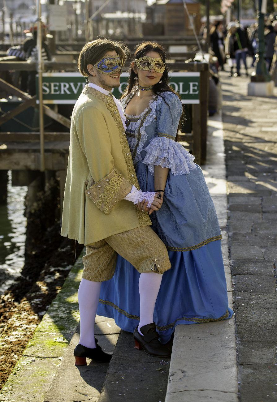 "Venice Carnival - Part 10 - ""The Couple"""