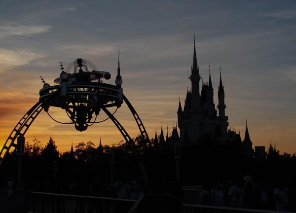 Sunset on Disney