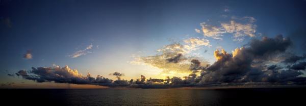 Caribbean Sunset by Owdman