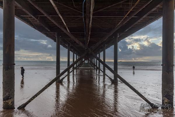 Underneath Paignton Pier by IainHamer