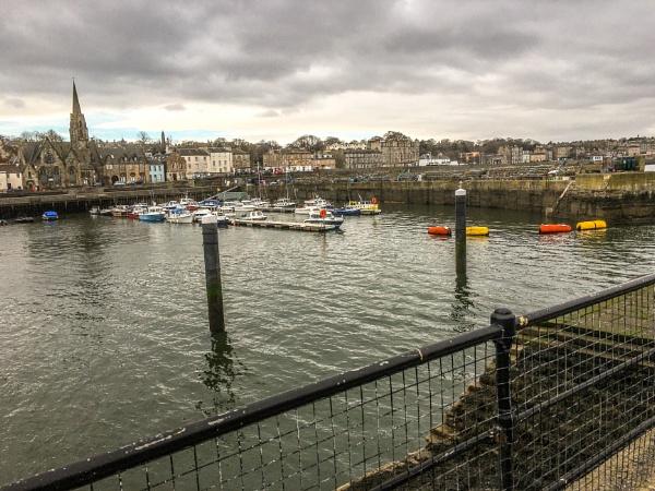 Newhaven Harbour, Edinburgh. by Pinarellopete