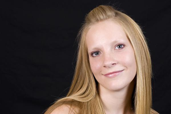 Pretty blond girl by PGibbings