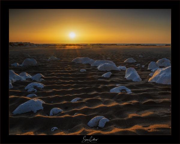 Sun & Rocks by sidcollins