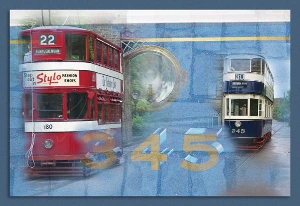 Tram montage by janetj