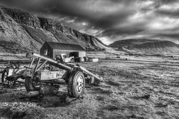 Old Agricultural Equipment, Mull by AndrewAlbert