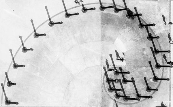 Fibonacci Walk. by paskinmj