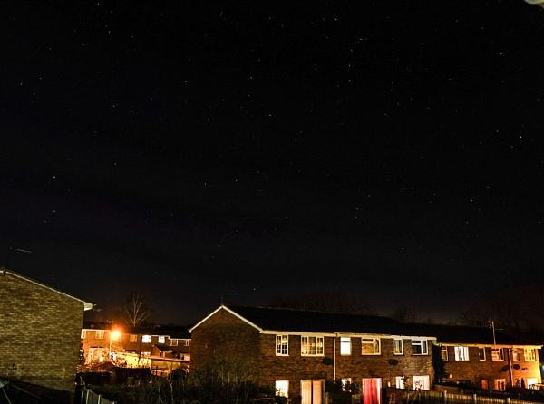 Night sky by 64Peteschoice