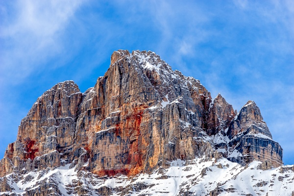 Red Mountain near Cortina d\'Ampezzo by Phil_Bird