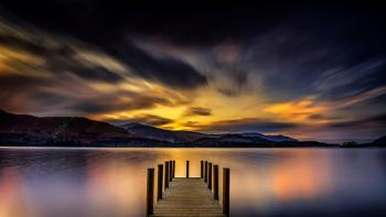 Ashness Jetty after Sunset