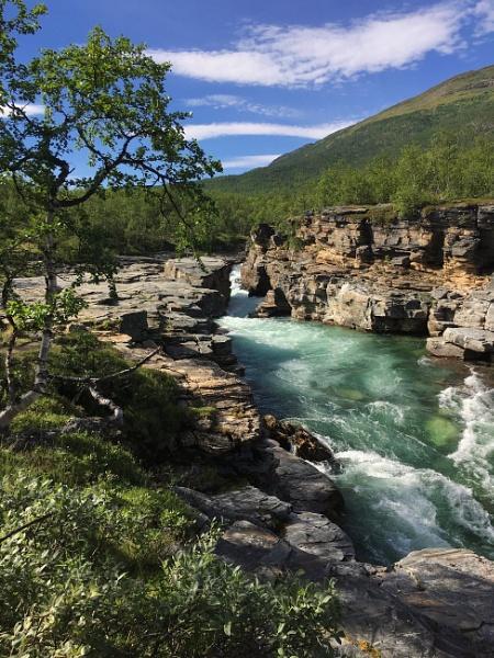 Abiskojåkka Kanjon by Arvorphoto