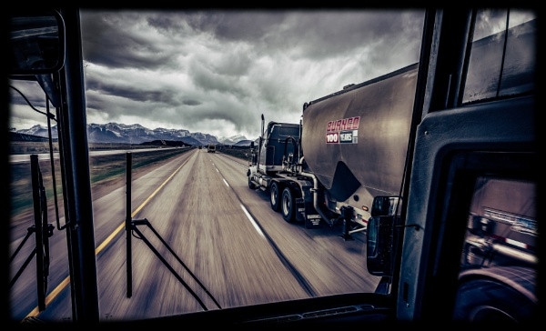 On Route to Banff by Yogendra