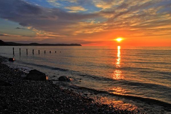 Seaside sunset by pks