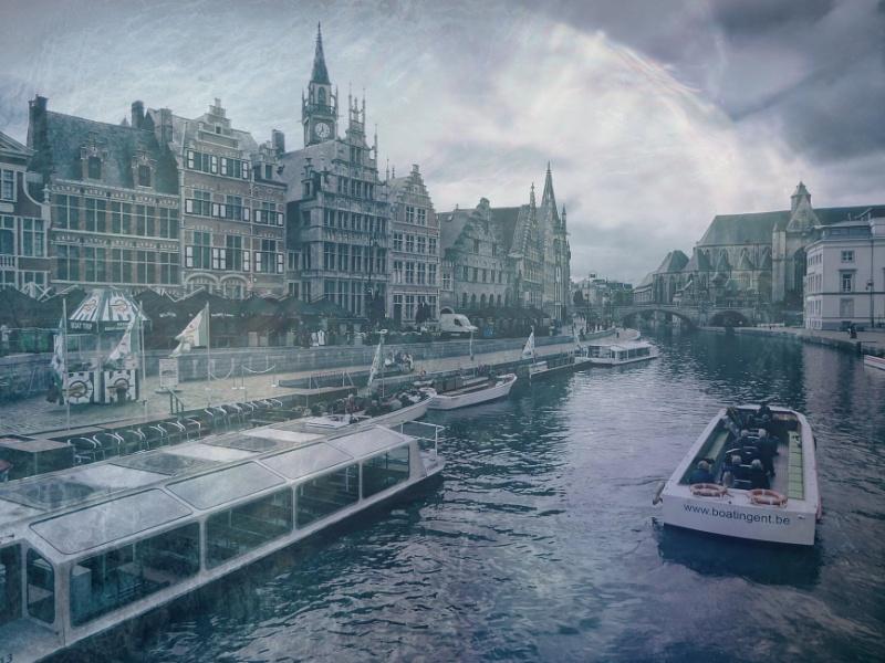 Flemish Scene (Graslei)