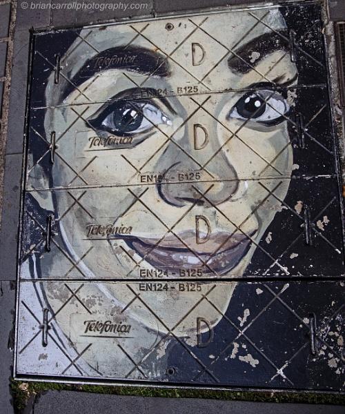 Manhole cover art by brian17302