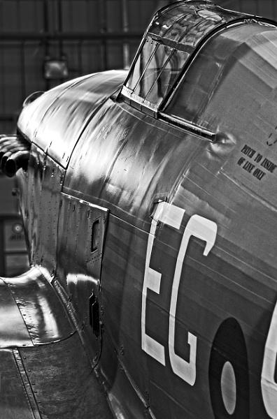 Spitfire cockpit by BiffoClick