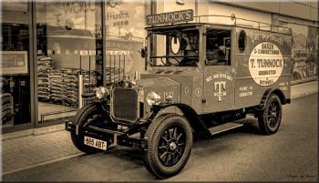 Ye Olde Tunnock's Van.