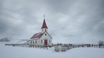 Reynisfjara Church Iceland