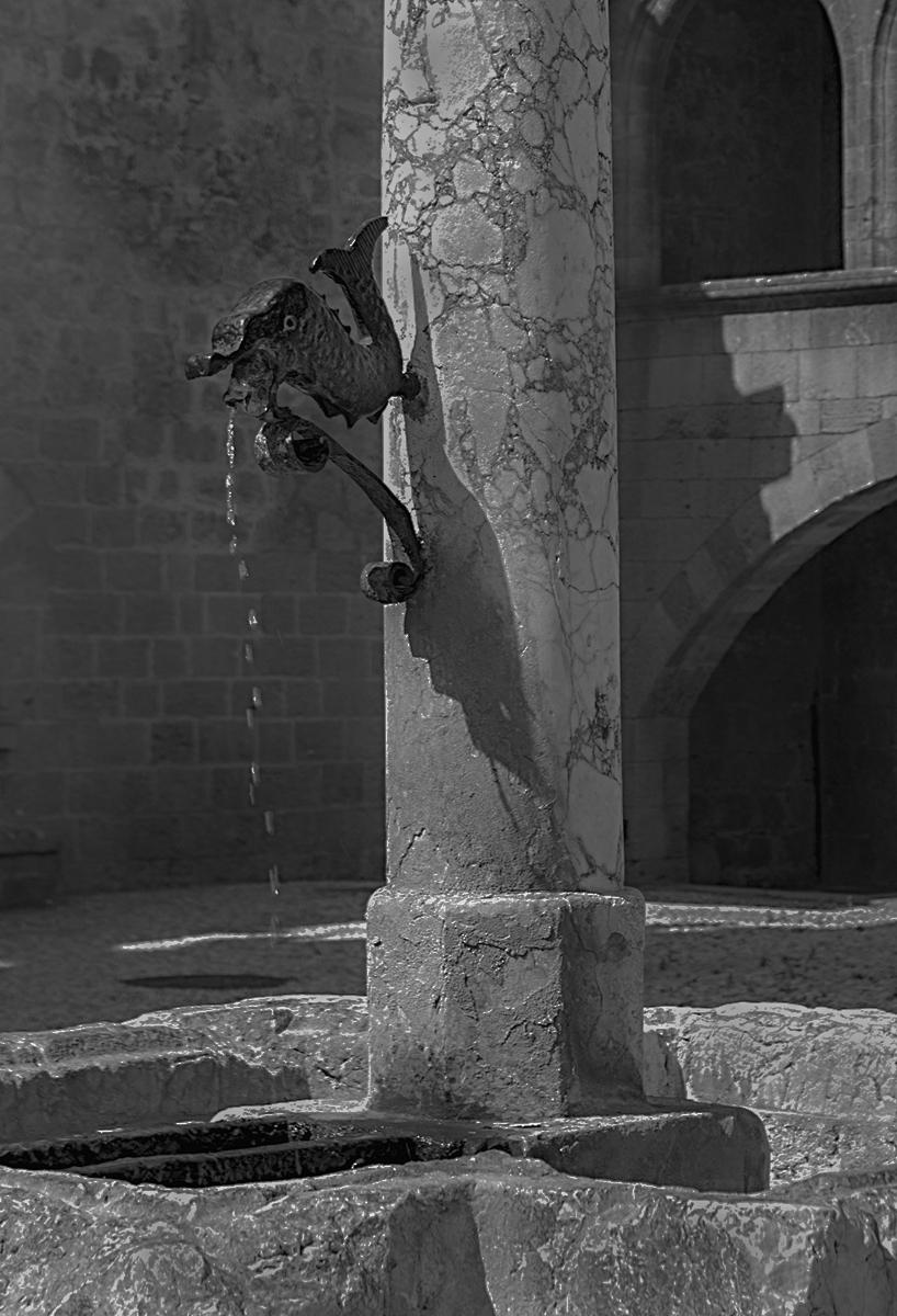 Fountain in Rhodes
