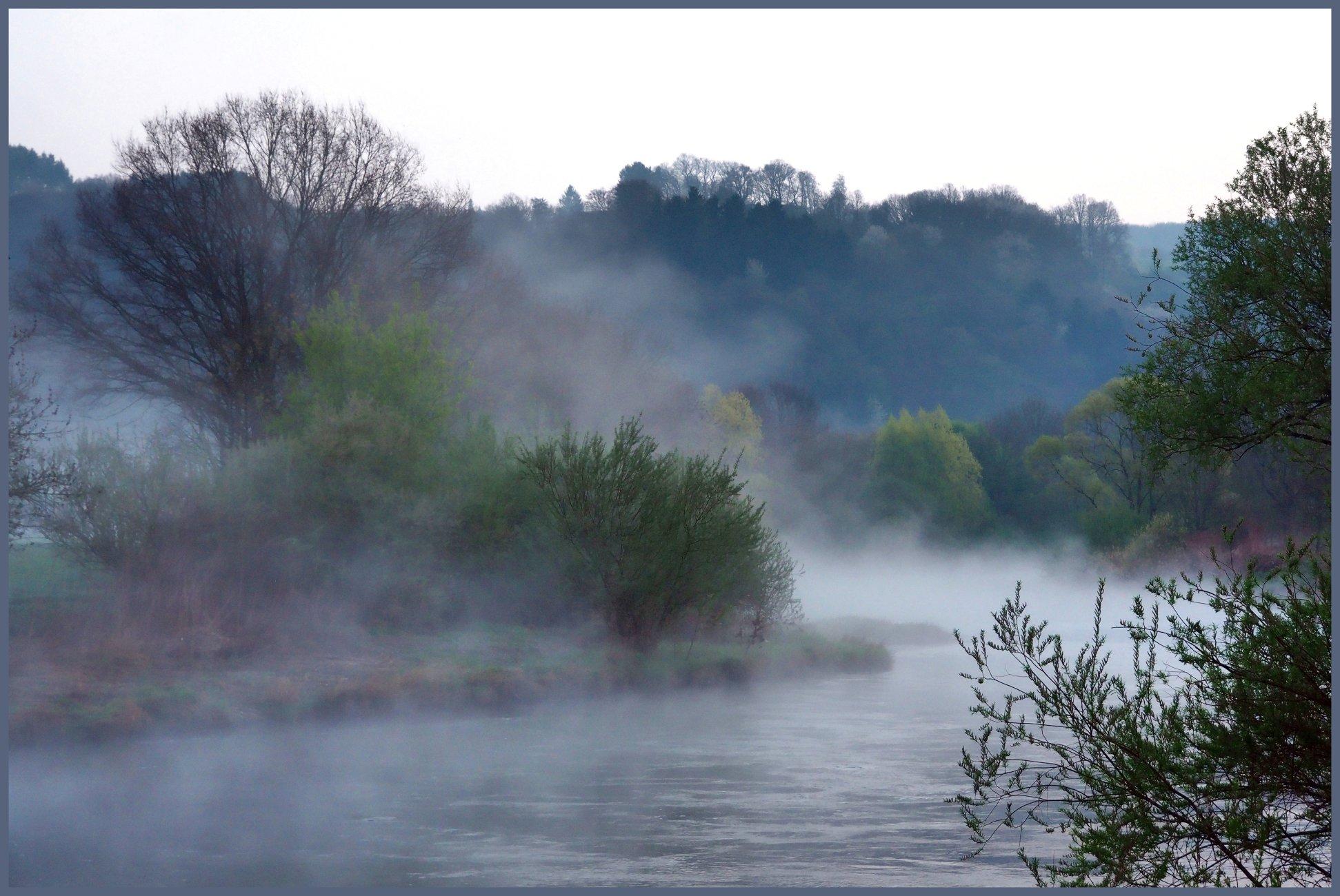 Morning At The River