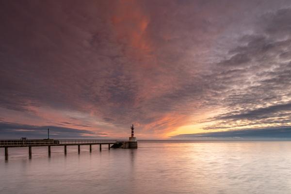 Amble Sunrise by Coloured_Images