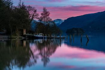 Sunset on Derwentwater