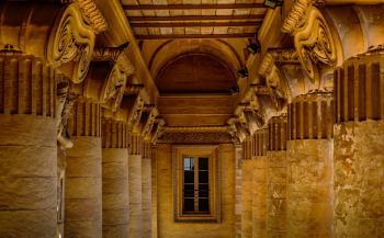 PILLARS -- Mosta Church Portico
