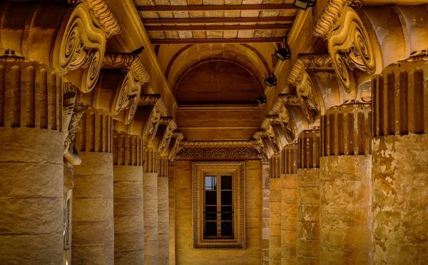 PILLARS -- Mosta Church Portico by Edcat55