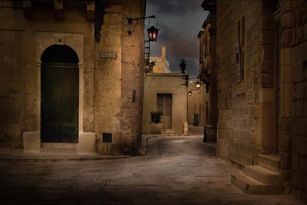Mdina, Malta -- First Light by Edcat55