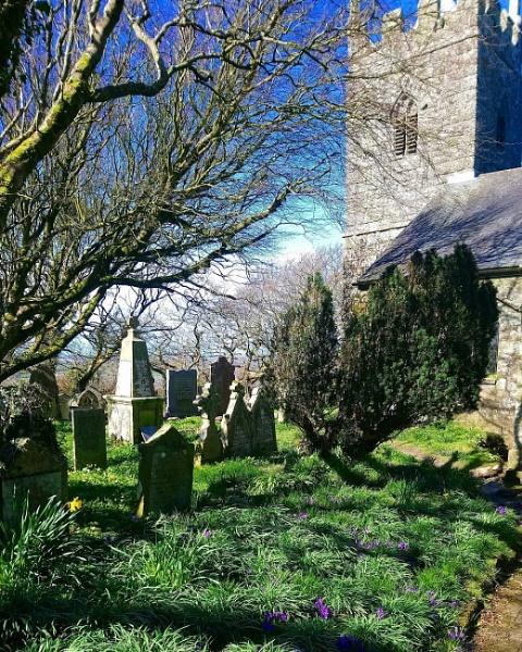 St Dennis Churchyard by sktimms