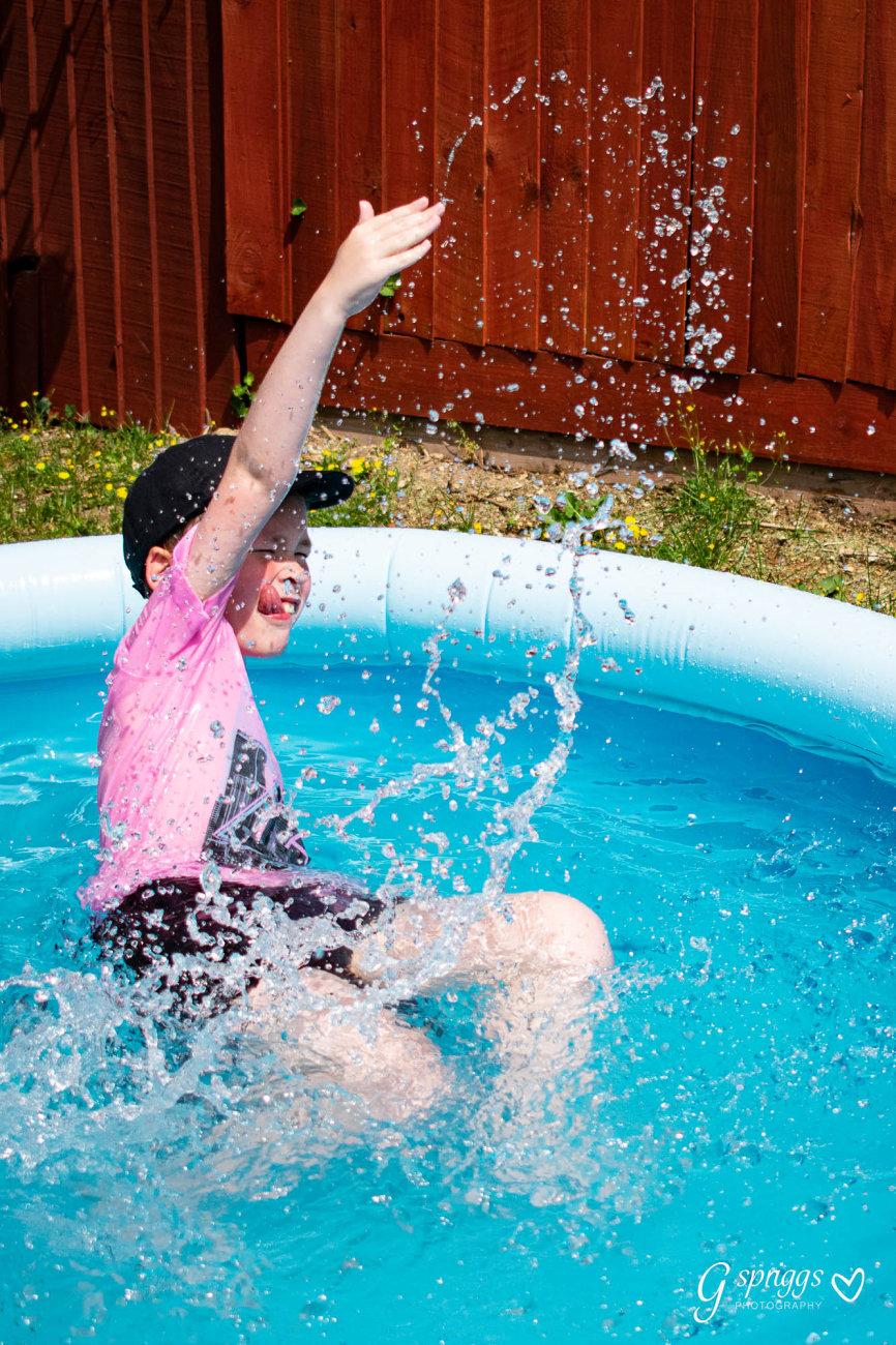 Just splashing around