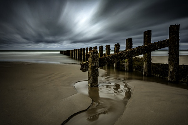 Groynes (From a Series) by LensArt