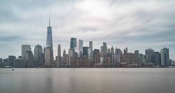 Manhattan Skyline by dynamisoz