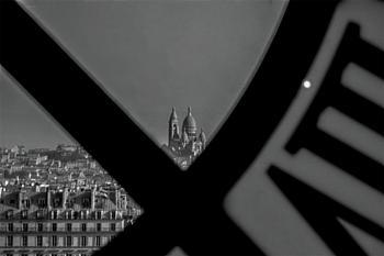 Sacre Coeur Viewed Through Musee D'Orsay Clock
