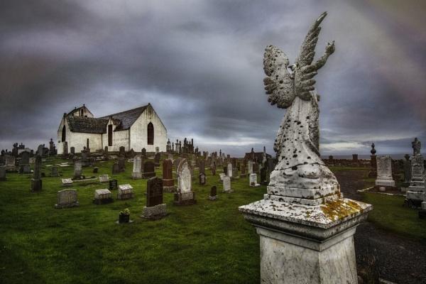 Canisbay Parish Church by AndrewAlbert
