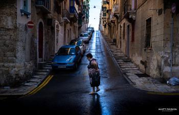 A Walk In Valletta.