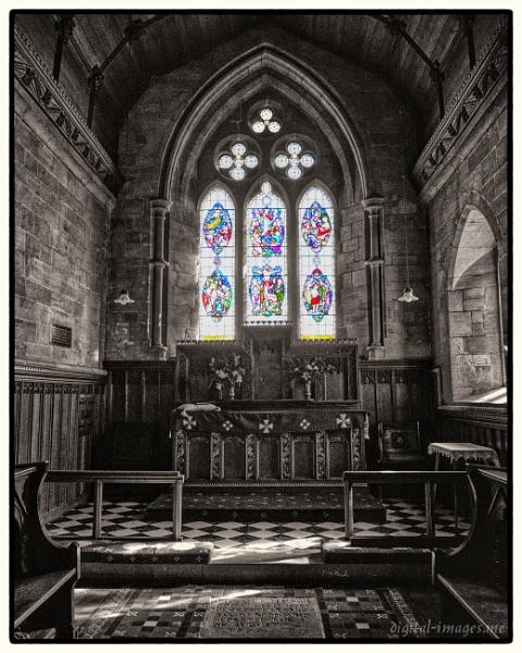 Church Window by Alan_Baseley