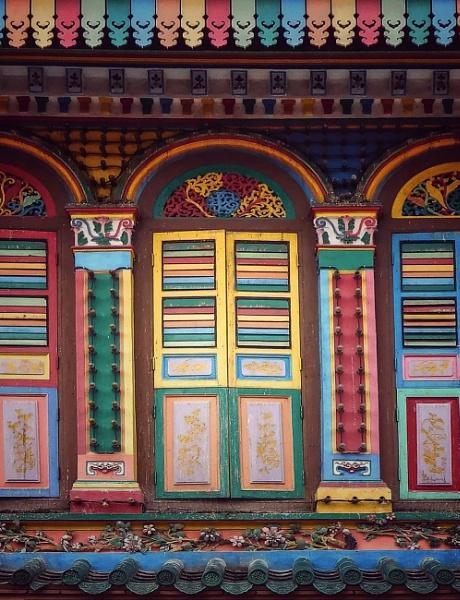 TAN TENG NIAH HOUSE Part of my Rainbows colour my world photos. by StevenBest