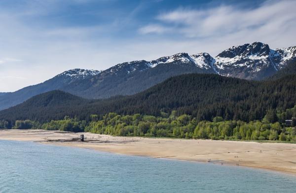 Juneau - Mountain Tops II by Yogendra