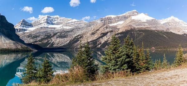 Bow Lake by pdunstan_Greymoon